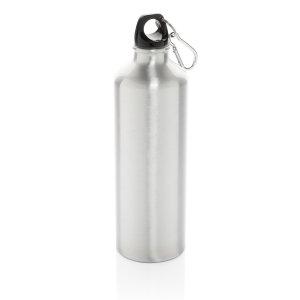 Алюминиевая бутылка для воды XL с карабином